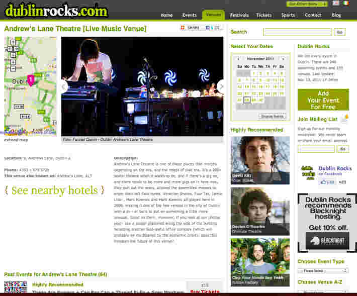 Dublinrocks.com feature